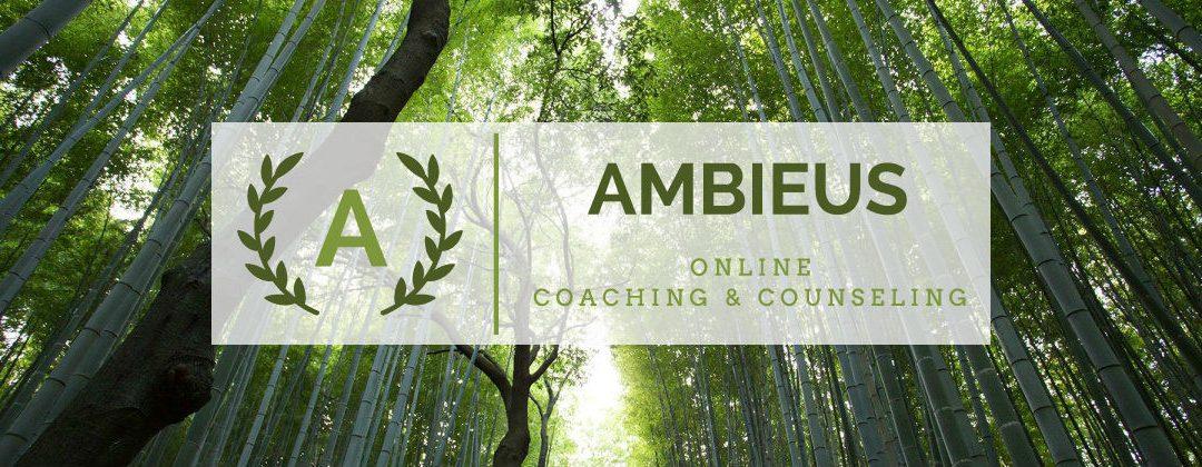 Lancering online coaching & counseling praktijk Ambieus